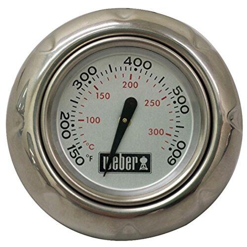 Weber 91329 Spirit Thermometer and Bezel Kit