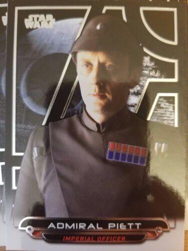 2017 Star Wars Galactic Files Reborn #ROTJ-7 Admiral Piett NrMint-Mint