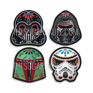Perfect Image Is Loading Star Wars Sugar Skull Vinyl Decal Sticker Set