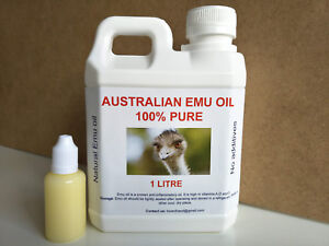 EMU-OIL-1-LITRE-AND-FREE-30ML-100-PURE-CHEAPEST-FREE-SHIPPING-FREE-POSTAGE