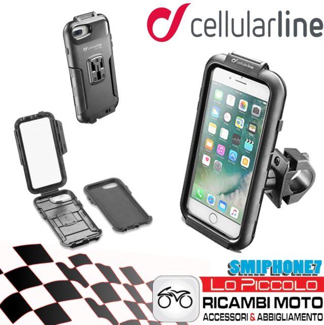SUPPORTO MOTO CUSTODIA IPHONE I PHONE 6 6s 7 e 8 CELLULAR LINE