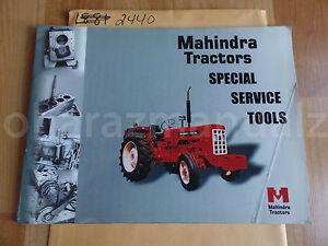 mahindra tractors special service tools list manual ebay rh ebay com Mahindra Tractor 2017 Manual 4025 mahindra 5500 tractor repair manuals