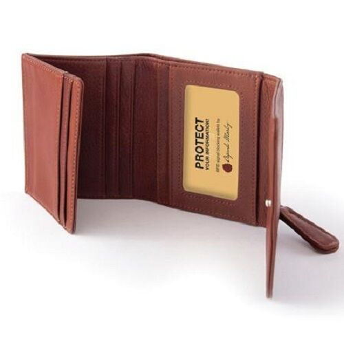 Osgoode Marley Cashmere Leather RFID Blocking Mini Wallet 1254