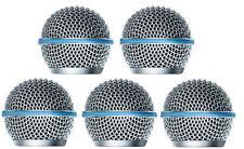 5 PCS Ball Head Mesh Microphone Grille Fits Shure SM58,Beta58/Beta58A