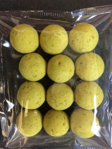 STICKY BAITS MANILLA WAFTERS TASTER PACKS of 12-16mm BOILIES
