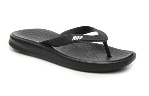 buy popular a432c 31e4a Nike Solay Men s Flip Flop Sandals Size 10 Style 882690 005 for sale online    eBay