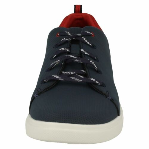 Ladies Casual Navy Blue Lo' Verve 'step Clarks Shoes Trainer RqwF6O