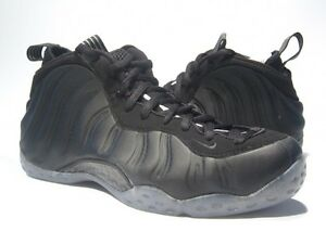 16e862c55a4 BRAND NEW NIKE AIR FOAMPOSITE ONE MATTE BLACK SZ 9.5 314996-010 2012 ...