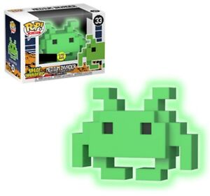 Rare-Glow-GITD-Space-Invaders-Funko-Pop-Vinyl-New-in-Mint-Box-Protector
