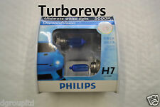 PHILIPS HALOGEN H7 5000K DIAMOND WHITE LIGHT XENON HID BULBS