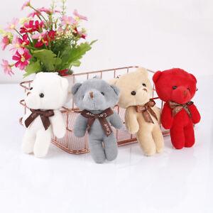 Mini plush bear stuffed cartoon animal cute key chain pendant soft toy Pip CA