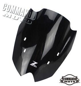 Motorcycle-Windshield-Flyscreen-Fit-Kawasaki-Z800-Z-800-2013-2014-Black-Modify