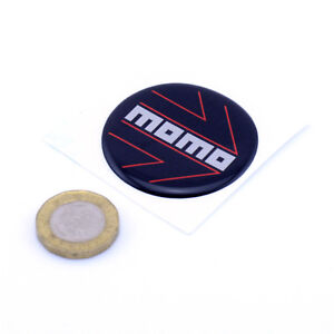 Momo-Steering-Wheel-Horn-Badge-Insert-Domed-Gel-STICKER-45mm-Custom-Sizes-Made