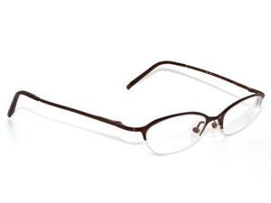 925244944442b Gucci Eyeglasses GG 2707 Y ZM2 Bronze Half Rim Metal Frame Italy 46 ...