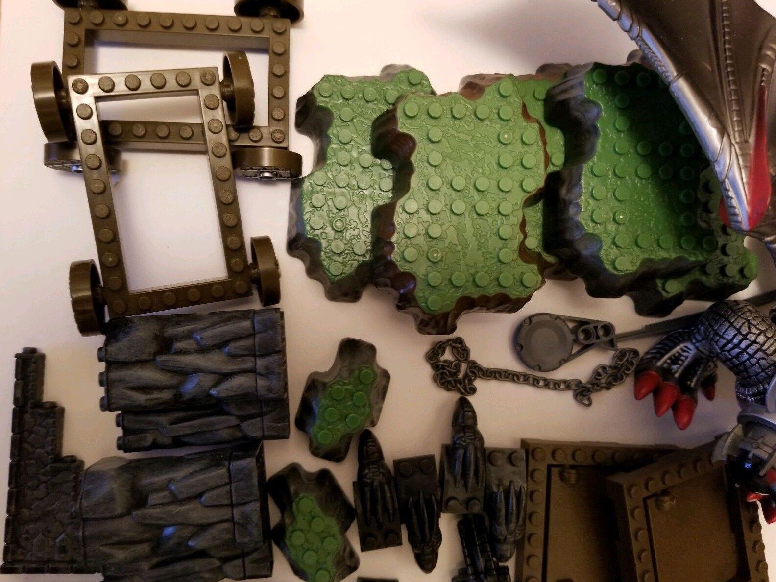 Mega Bloks Sorcerers Lair Play Set Accessories Accessories Accessories 2002 incomplete 34d4c1
