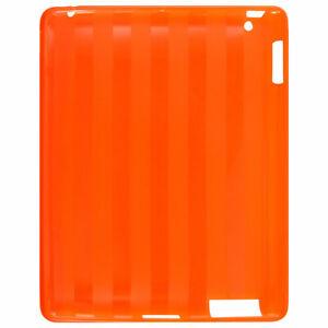 Antislip-Plastic-Striped-Back-Shell-Cover-Orange-for-Apple-iPad-2G-3G