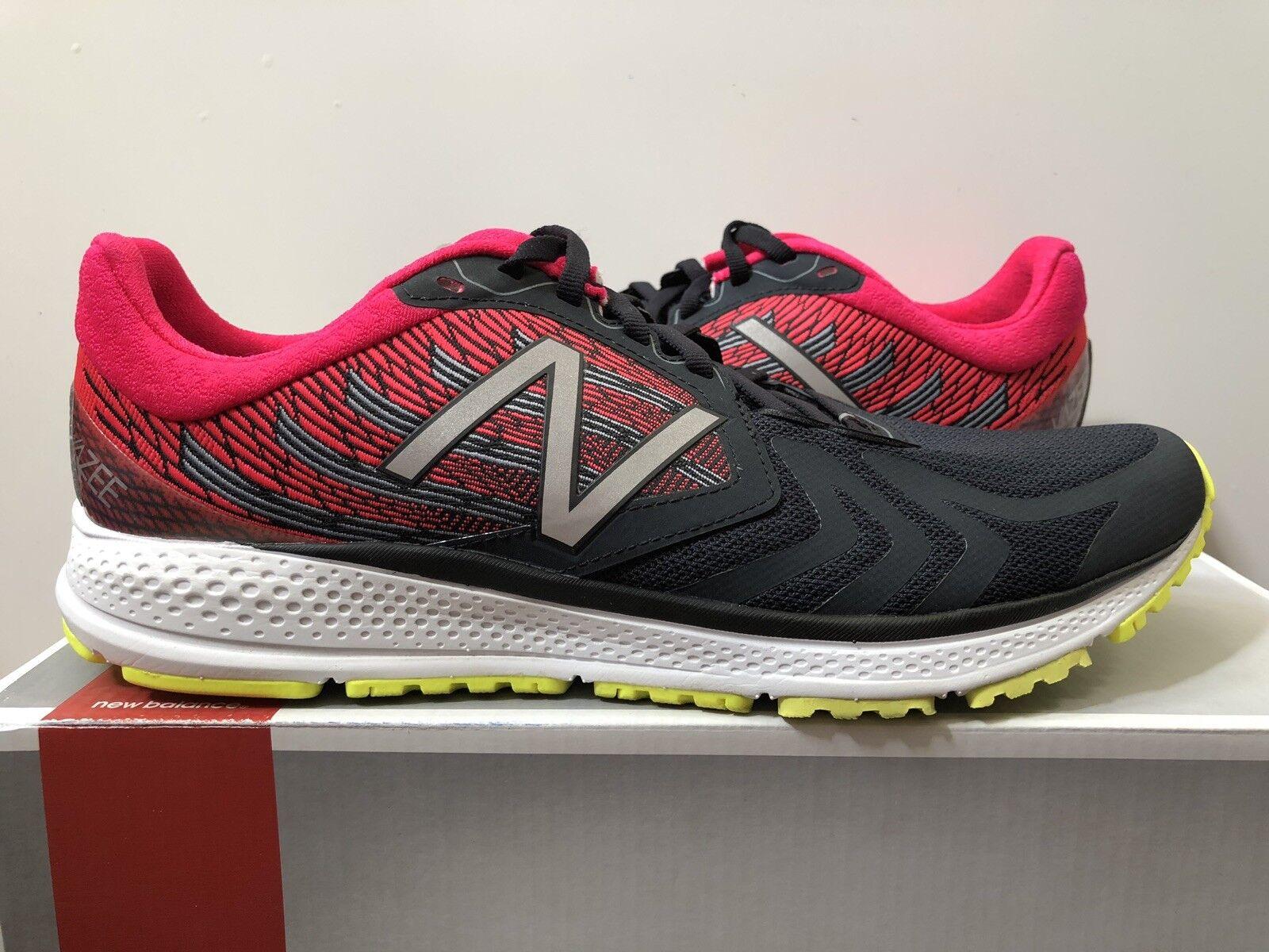 Men's New Balance Speed Vazee MPACEBR2 Black Pink Size 9.5 Running shoes