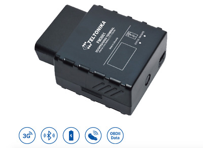3G and Bluetooth Teltonika FM3001 Plug and Track Real-time Tracker with GNSS