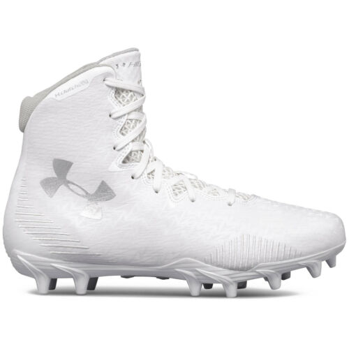 Pick Size UNDER ARMOUR UA HIGHLIGHT MOLDED MC LAX Womens Lacrosse Cleats White