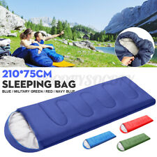 Ejoyous Adult Sleeping Bag Hiking Single Lightweight Portable Waterproof Cotton Warm with Comfort Compression Sack for 3 Season Adults Kids Season Mountain Warehouse For Camping Travelling