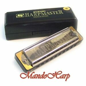 Suzuki-Harmonica-MR-200-Harpmaster-KEY-OF-C-NEW