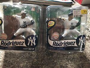 Mcfarlane Alex Rodriguez Variante Chase 4 juillet Yankees Hat Plus Autre personnage