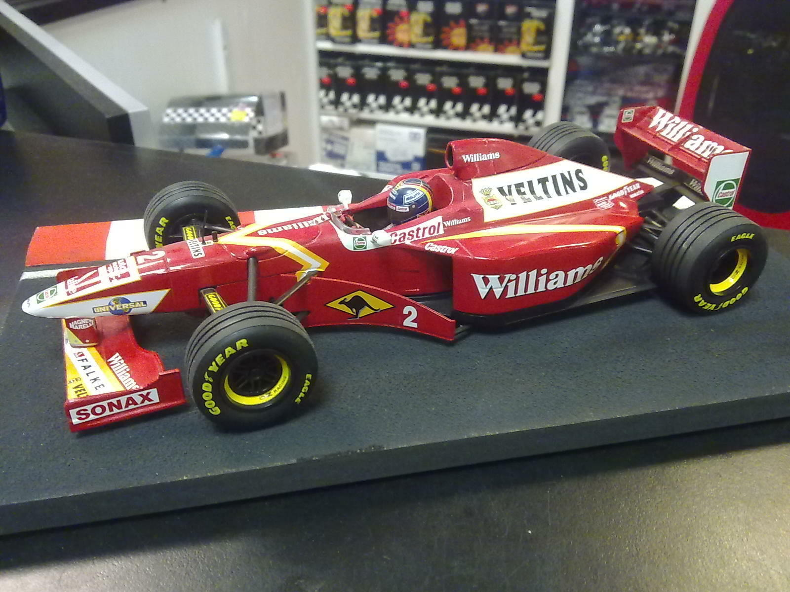 Williams Mecachrome Launch Version 1998 1:18  2 Heinz Harald Frentzen
