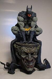 batman crouched on joker pedistal statue w professional. Black Bedroom Furniture Sets. Home Design Ideas