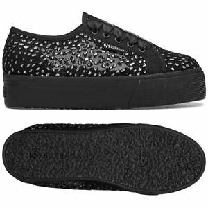 Wedge 2790 Superga Chic Chaussures netglitterdropsatinw femmes Aux 7a0qC