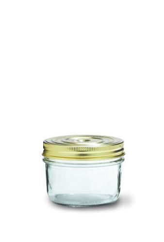 Leparfait 350 ml Famillia Wiss terrine bocaux or vis-Haut Couvercle et joint
