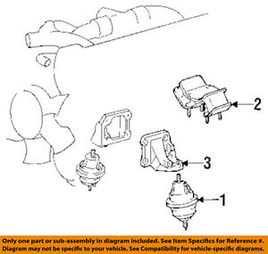 image is loading toyota-oem-95-98-supra-engine-motor-mount-