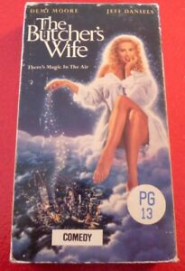 VHS-Movie-The-Butcher-039-s-Wife-Demi-Moore-Jeff-Daniels
