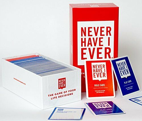 NEW   Never Have I Ever  The Game of Poor Life Decisions Card Game for 17 years+