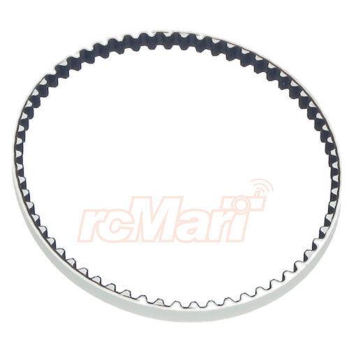Xray T4 hautes performances à faible friction drive courroie arrière 3x189mm Blanc #XR-305447