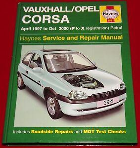 Haynes Manual Vauxhall Opel Corsa 1993-2000 Diesel 4087