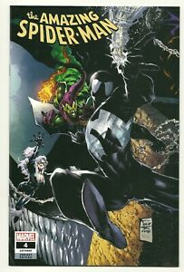 THE-AMAZING-SPIDER-MAN-4-LGY-805-Philip-Tan-variant-cover-Marvel-comic-book