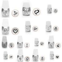 Metal Jewelry Design Stamps By Impressart (love & Wedding) 6mm