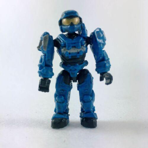 Lot of 10pcs HALO MEGA BLOKS blue UNSC SPARTAN Mini Figure Building Toy New