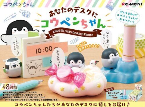 12//19 Re-Ment Miniature Penguin Koupen Chan Desktop Figure # 4 Sticky board