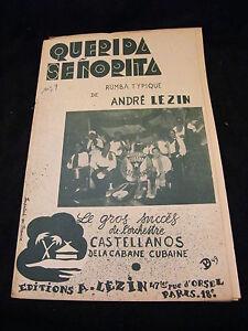 Partitura-Querida-Senorita-Andre-Mike-Castellanos-Music-Sheet
