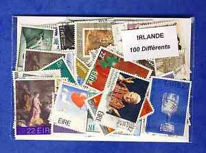 Irlande-Eire-100-timbres-differents