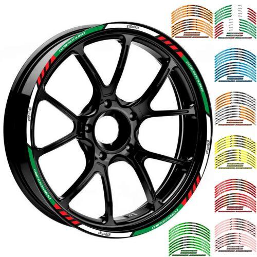 """17/""""//18/"""" Wheel Decals Reflective Sticker Rim Strip For Aprilia DORSODURO"""