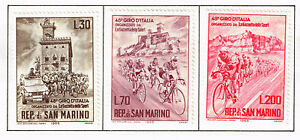 San Marino Bicyles Race around famous Castle set 1965 MLH