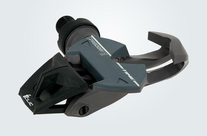 TIME XPRESSO 2 CLIPLESS CLIP LESS ROAD CYCLING  PEDALS inc CLEATS DARK GREY PAIR  all products get up to 34% off