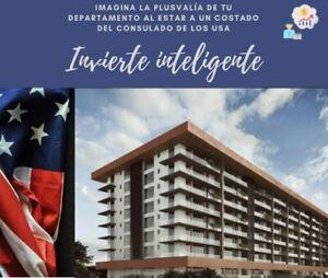Departamento con club de playa y amenidades a un costado del consulado USA invierte inteligente