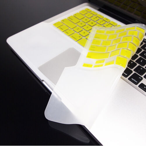 FULL YELLOW Keyboard Skin Cover Case for Macbook Pro 13