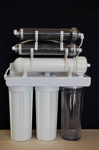 Oceanic Aquarium Reef Reverse Osmosis RODI Water Filter 6 stage 50 GPD 0 ppm USA