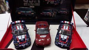 Maquette Slot Car Fly Team Corvette C5r 24h Le Mans 2003 Historique