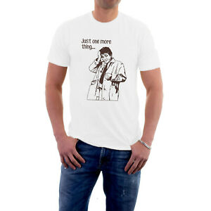 Lt Columbo Detective T-shirt Just One More Thing Police  TV Cop