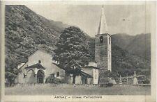 Armaz Chiesa Parrocchiale  Aosta - Val d'Aosta Cartolina viaggiata 1931